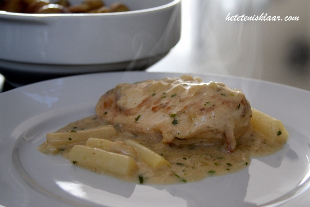 kipfilet in dragon saus