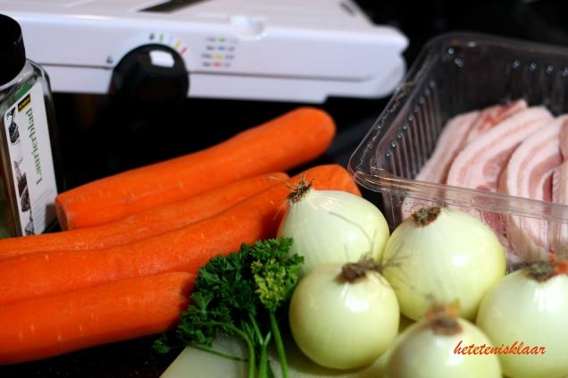 ingrediënten dag 1