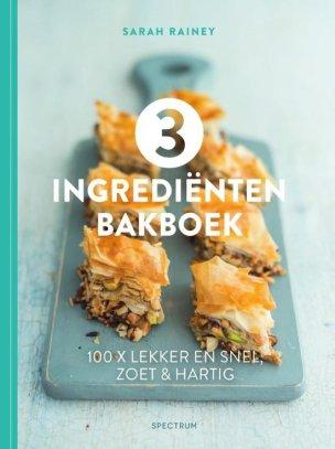 voorkant 3 ingrediënten bakboek