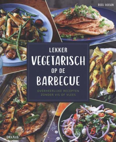 cover lekker vegetarisch op de barbecue